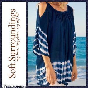 Soft Surroundings Tie Dye tunic sz. 6